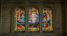 Stained Glass In The Cathedral...