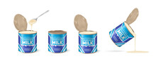 WebCondensed Milk. Set Metal T...
