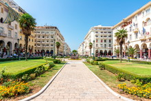 Aristotelous (Aristotle) Square In Center Of Thessaloniki, Greece