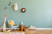 Stylish Scandinavian Kid Room ...