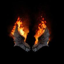 Burning Dragon Wings, Dark Atm...