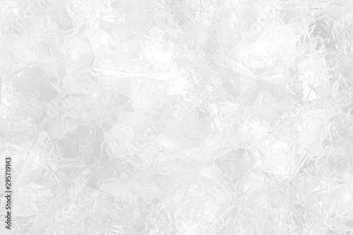 Photo sur Aluminium Pop Art Abstract ice crystal background.