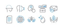 Set Of Science Icons, Such As ...