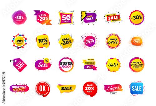 Fotografia Sale banner badge