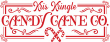 Kris Kringle Candy Cane SVG
