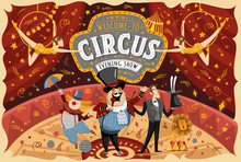 Welcome To The Circus! Vector ...