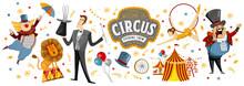 Circus! Vector Illustrations O...