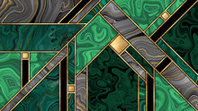 Abstract Art Deco Background, ...