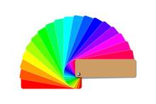 Color Palette Guide, Rainbow C...