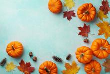 Autumn Thanksgiving Background...