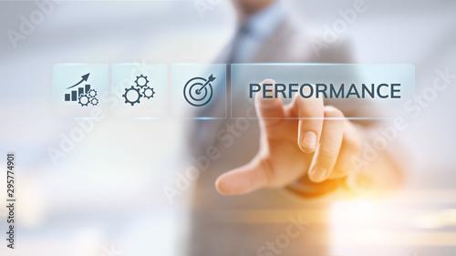 Pinturas sobre lienzo  KPI key performance indicator increase optimisation business and industrial process