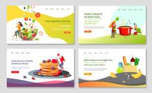 Set Of Web Page Design Templat...