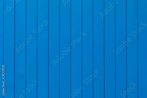 Fotografia  Bright blue, electric blue background with vertical panels