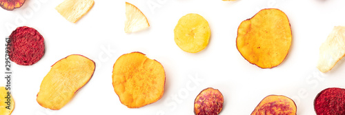 a-panorama-of-dry-fruit-and-vegetable-chips-shot-from-the-top-on-a-white-background-healthy-vegan-snack-an-organic-food-flat-lay