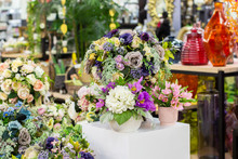 Bouquets Of Artificial Flowers...