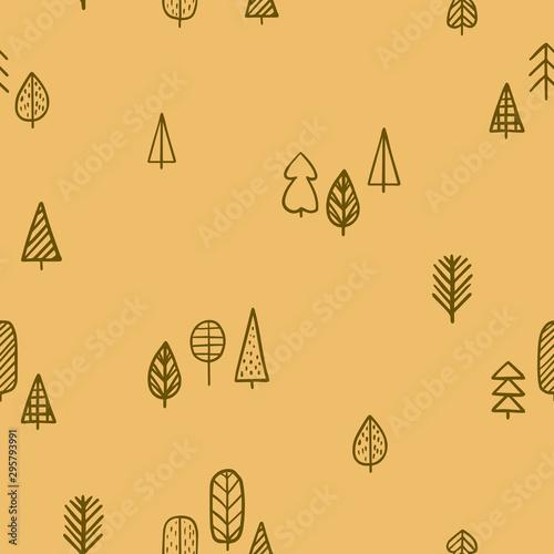 wzor-z-recznie-rysowane-drzew-wzor-lasu-ilustracji-wektorowych