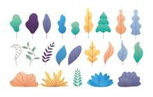 Flat Minimal Leaves. Simple De...