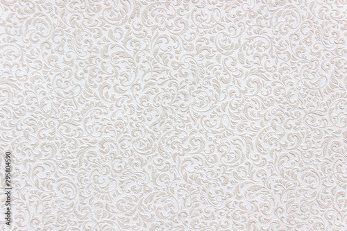 patterned white texture for design, background Tablou Canvas