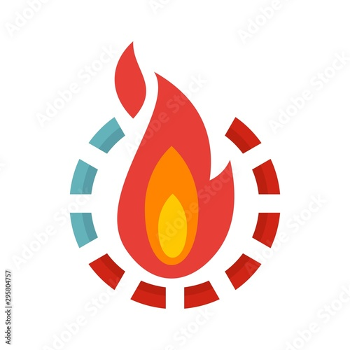 Foto Fire burn calories icon