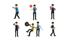Policeman Characters In Variuo...