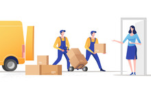 Concept Of Express Delivery Se...