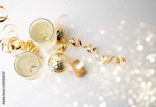 Photo  Champagne for celebration party