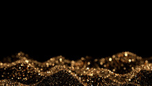 Luxury Glitter Background. 3d ...