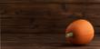 Leinwandbild Motiv Pumpkin on wooden background
