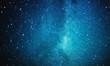 Leinwanddruck Bild - space and billions of stars