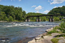 View Of The White Rapids, Rive...