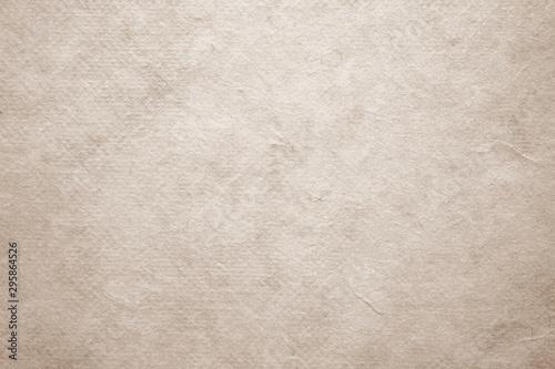 Obraz Brown handmade japanese paper texture background, banner, Vintage handmade paper in natural seamless pattern surface decorative design for background of backdrop, poster, wallpaper, scrapbook - fototapety do salonu