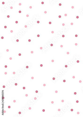 Abstract seamless pattern with Circle in Soft gradient pastel background in sweet color - 295865376