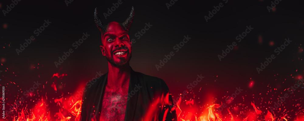 Fototapety, obrazy: portrait of bad demon