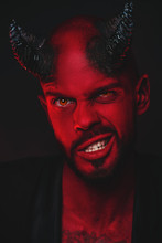 Grinning Red Devil