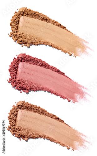 face powder beauty make up blush Wallpaper Mural