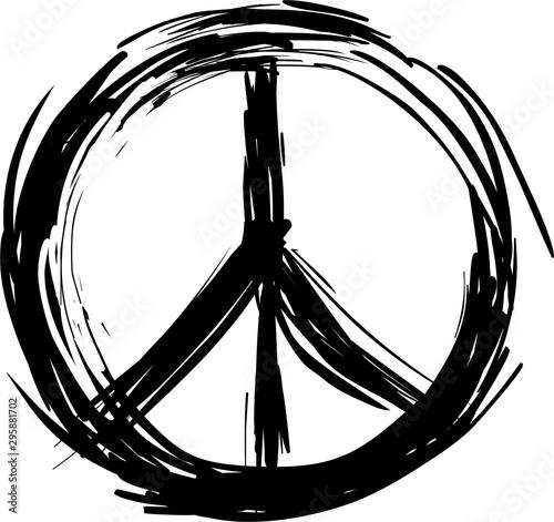Peace symbol Fototapete