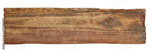 Fotografiet wood wooden sign background board plank signpost