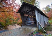 Covered Bridge In North Carolina