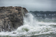 Cresting Rock
