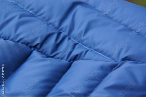 Fototapeta  Un tissu bleu