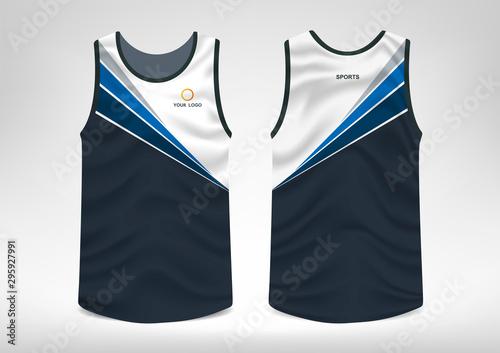 Fotografía Sleeveless Sport T-shirt Design