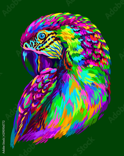 Canvas-taulu Macaw parrot