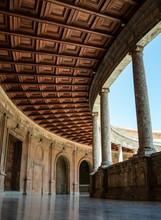 Inside Palcio De Carlo V
