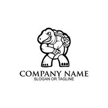 Inspiration Angry Ninja Turtle Mascot Sport Gaming Esport Logo For Squad Team Club