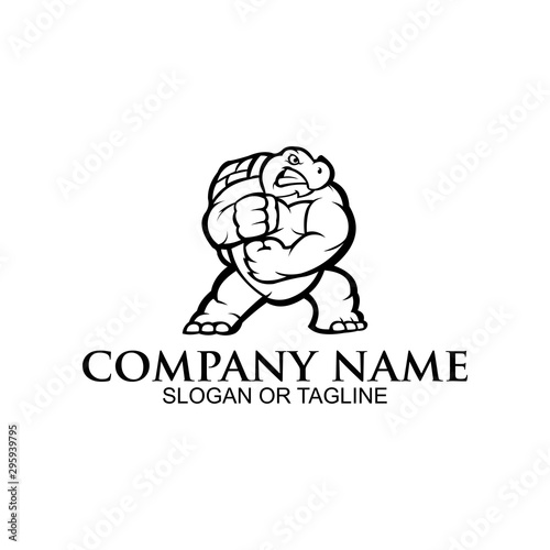 Obraz na plátně inspiration Angry ninja turtle mascot sport gaming esport logo for squad team c