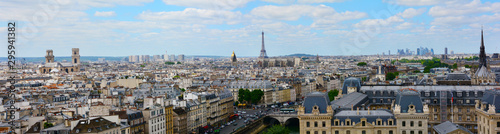 Paris Panorama Canvas Print
