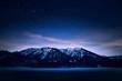 Die Alpen bei Nacht - Sylvensteinstausee