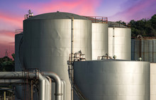 Oil And Gas Refinery Storage T...