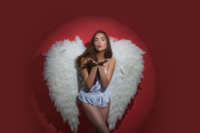 Valentines Day Concept. Cupid ...