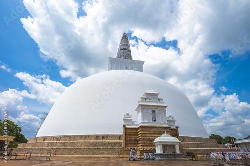 Stampa su Tela Ruwanwelisaya stupa at Anuradhapura , sri lanka